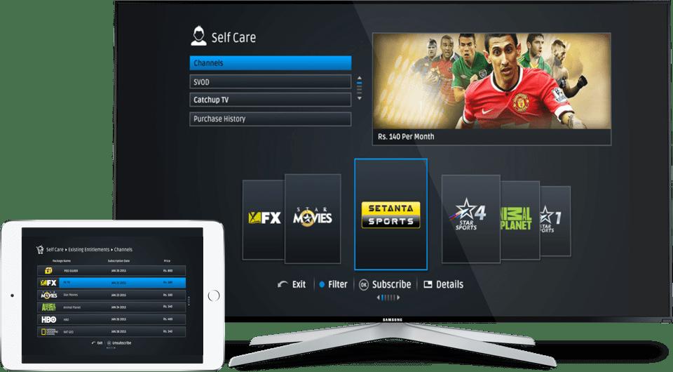 App prototype for SriLanka Telecom
