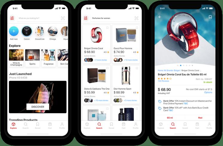Retail Customer App